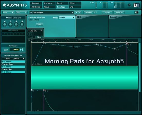 Morning Pads for Absynth5 - 64 Pads