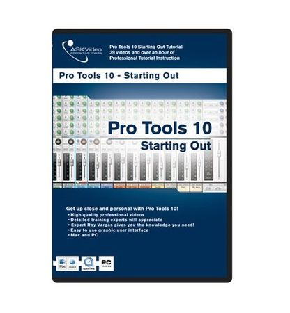 Pro Tools 502 Starting Out With Pro Tools 10 TUTORiAL