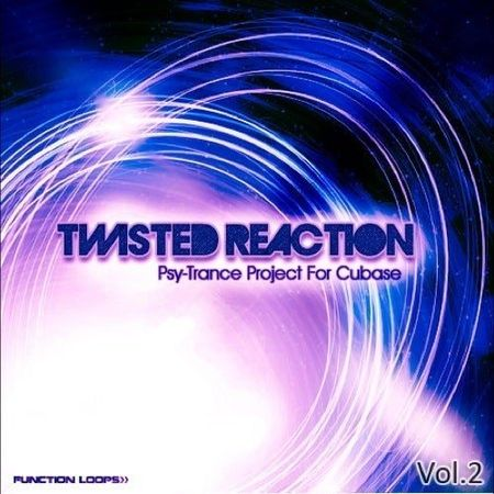 Twisted Reaction Psy-Trance Project For Cubase Vol.2 WAV MiDi