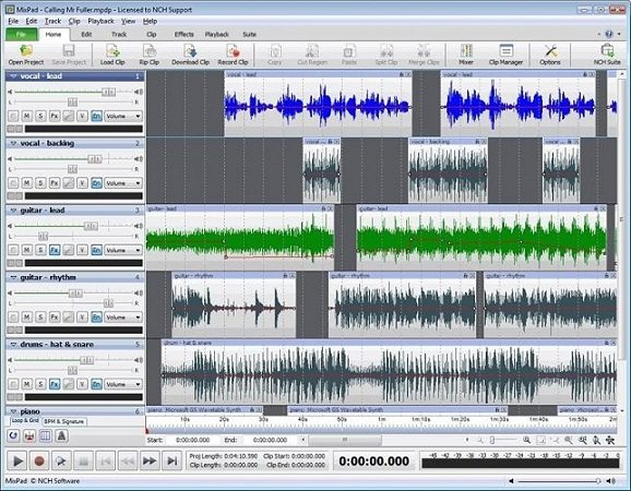 NCH MixPad Masters Edition 6.09 WIN