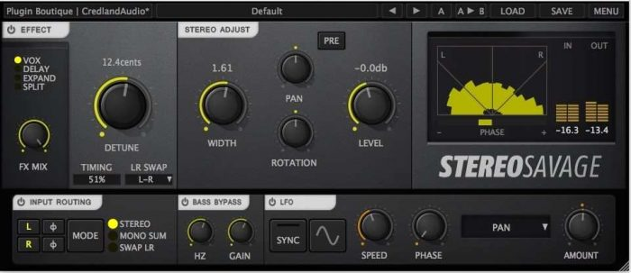 Stereo Savage v1.2.1 Incl Patch and Keygen (WiN and OSX)