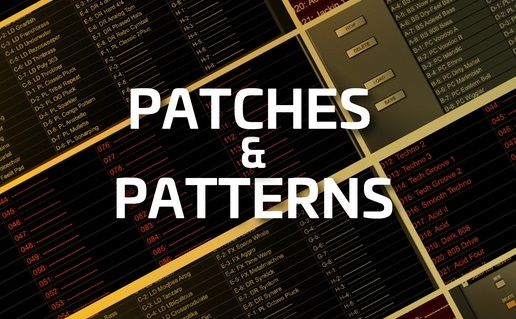 Patches and Patterns Techno Presets