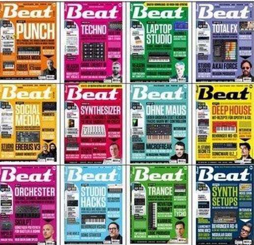 Beat Magazine - 2019 Full Year Issues Collection