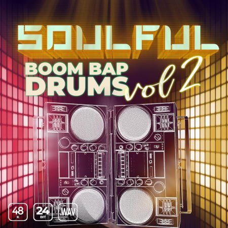 Soulful Boom Bap Drums Vol. 2 WAV