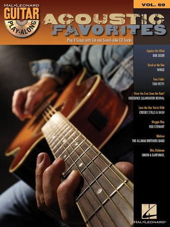 Acoustic Favorites Guitar Play-Along Volume 69 PDF MP3