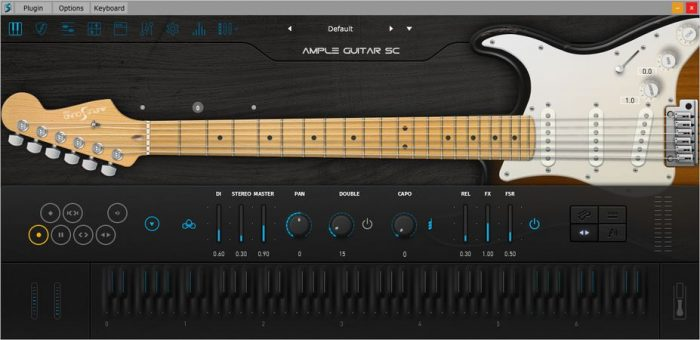 Ample Guitar Stratocaster v3.1.0 WIN OSX