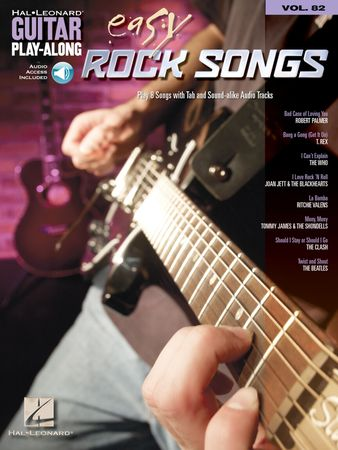 Easy Rock Songs Guitar Play-Along Volume 82 PDF MP3