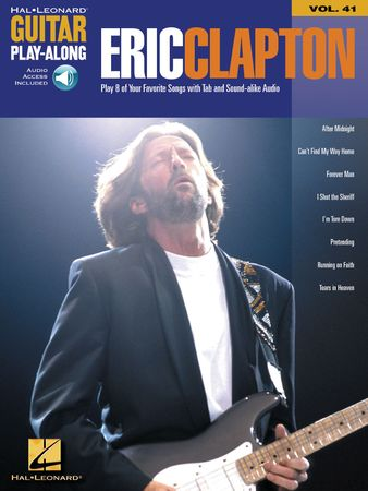 Eric Clapton Guitar Play-Along Volume 41 PDF