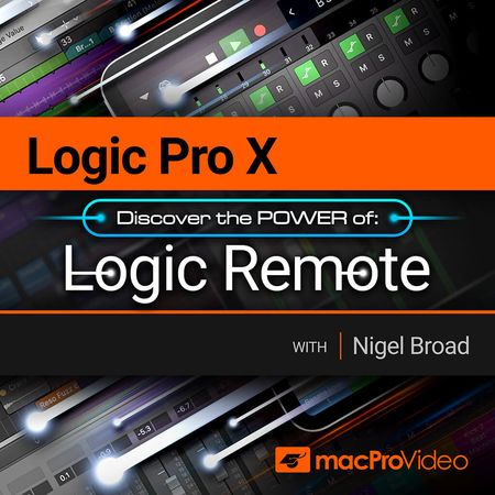 Logic Pro X 107 Logic Remote TUTORiAL