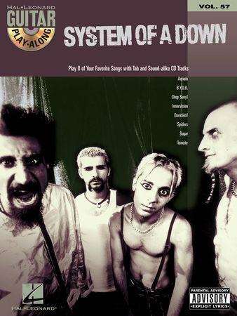 System of a Down Guitar Play-Along Volume 57 PDF MP3