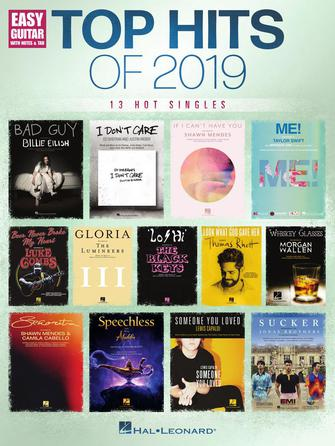 Top Hits of 2019 Easy Guitar Songbook 13 Hot Singles