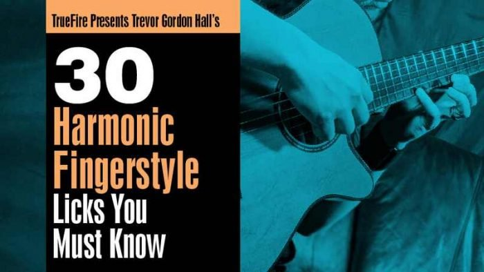 30 Harmonic Fingerstyle Licks You Must Know TUTORiAL