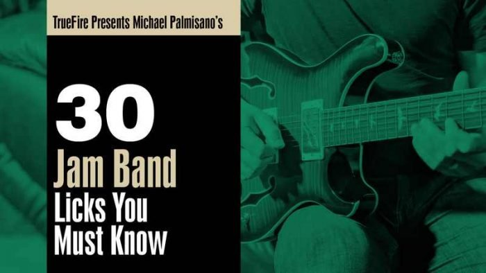 30 Jam Band Licks You Must Know TUTORiAL