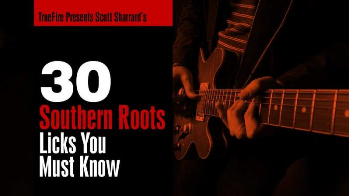 30 Southern Roots Licks You MUST Know TUTORiAL