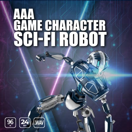 AAA Game Character Sci Fi Robot WAV-FLARE