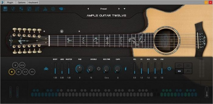 Ample Guitar Twelve v3.3.0 WIN OSX