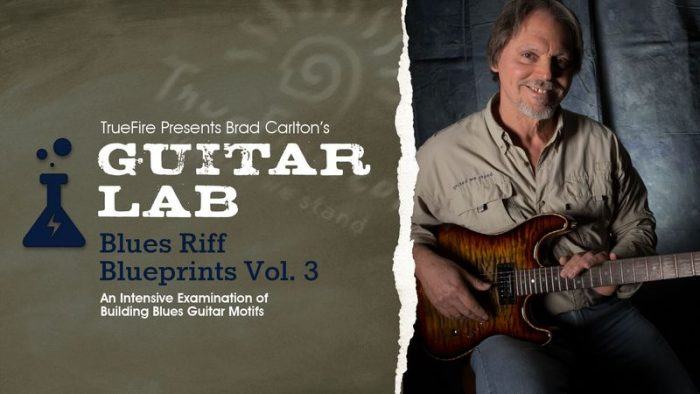 Guitar Lab Blues Riff Blueprints Vol.3 TUTORiAL
