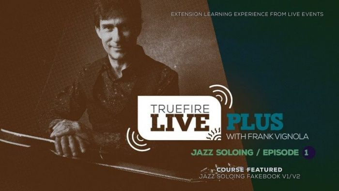 Live Plus Jazz Soloing Ep.01 TUTORiAL