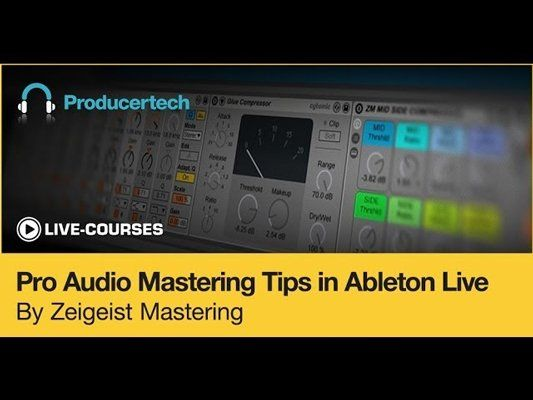 Pro Audio Mastering Tips in Ableton Live TUTORiAL