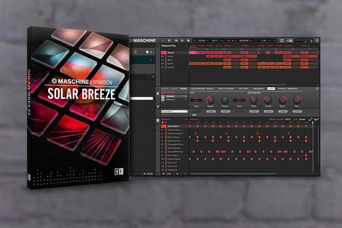 Solar Breeze Maschine Expansion v2.0.3
