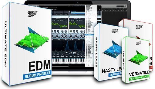 Sound Ultimate EDM Serum Pack & Extension For XFER RECORDS SERUM