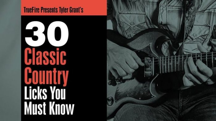 30 Classic Country Licks You Must Know TUTORiAL