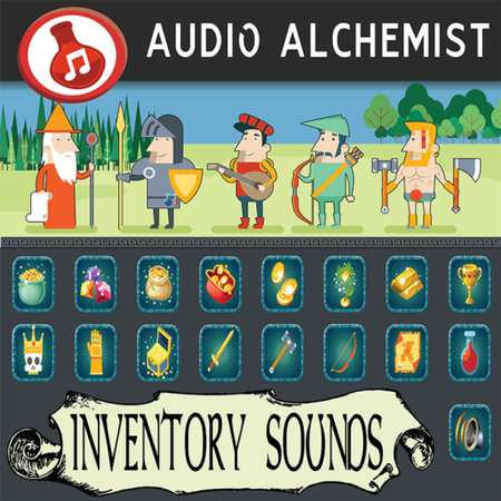 Alchemist Inventory Sounds WAV-DECiBEL