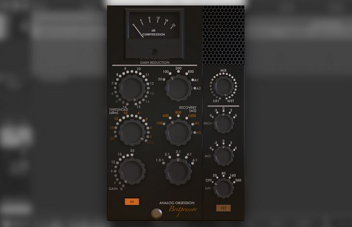 Analog Obsession Britpressor v1.0 VST VST3 AU WiN MAC [FREE]