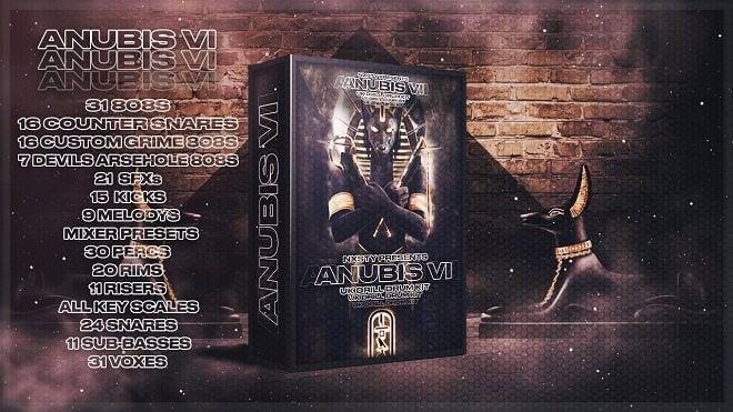 Anubis UK Drill Kit 2020 WAV MiDi FL Studio