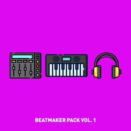 Beatmaker Pack Vol. 1 WAV MiDi FLP