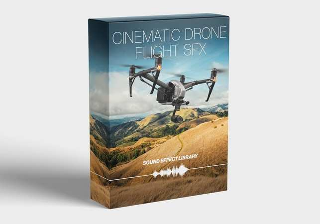 Cinematic Drone Flight SFX Library AiFF