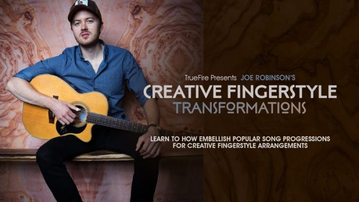 Creative Fingerstyle Transformations TUTORiAL