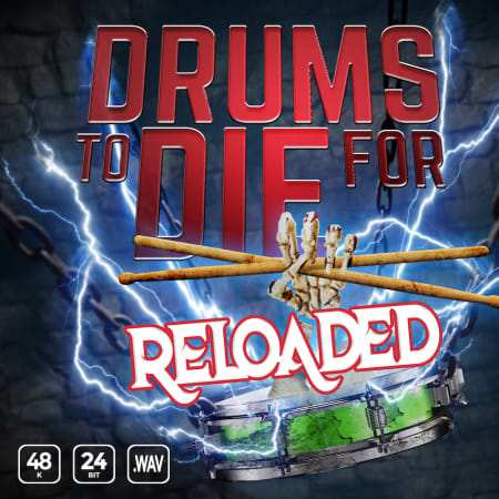 Drums To Die For Reloaded Vol. 1 WAV-FLARE