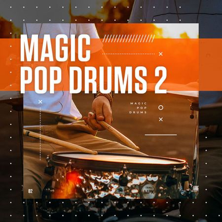 Magic Pop Drums 2 WAV-DISCOVER