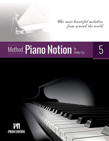 Piano Notion Five The most beautiful melodies