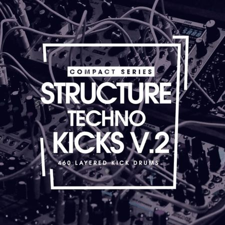 Structure Techno Kicks V2 WAV-DISCOVER
