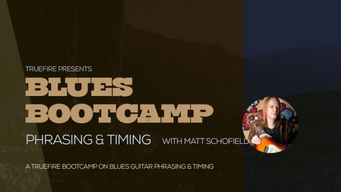 Blues Bootcamp Phrasing And Timing TUTORiAL