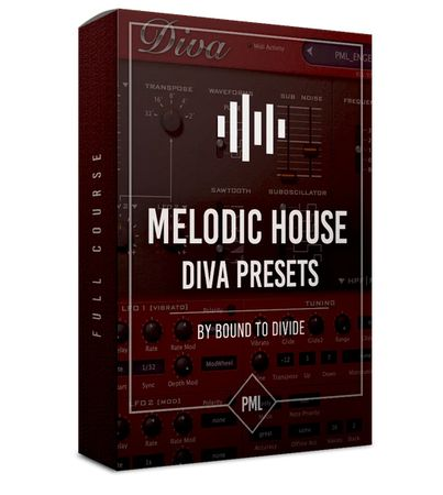 Diva Preset Pack Melodic House H2P-FLARE