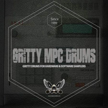 Gritty MPC Drums WAV Akai MPC