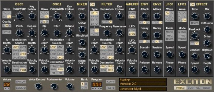 Groovecube Exciton v2.0.1-R2R