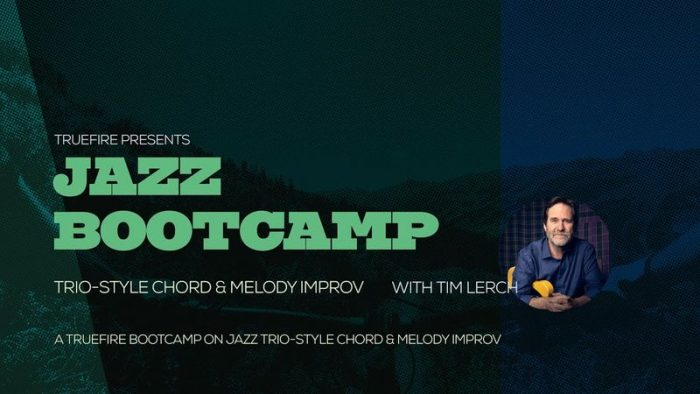 Jazz Bootcamp Trio-Style Chord And Melody Improv TUTORiAL