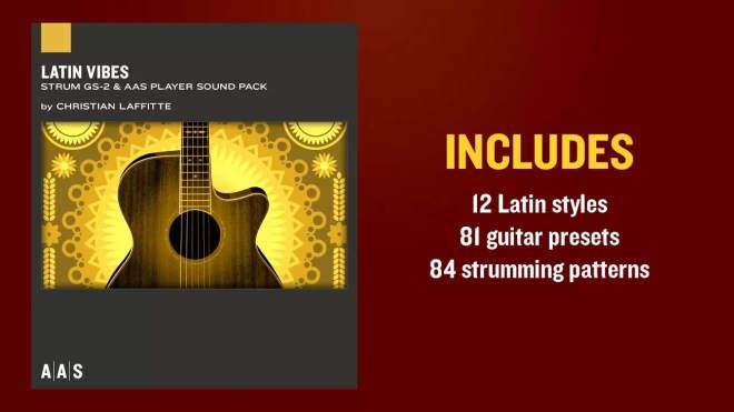 Latin Vibes GS-2 Soundpack-SYNTHiC4TE