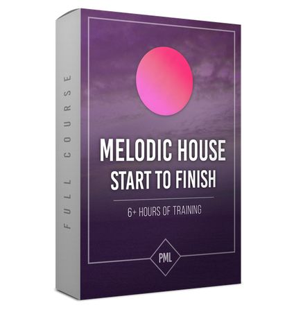 Melodic House Track from Start To Finish TUTORiAL
