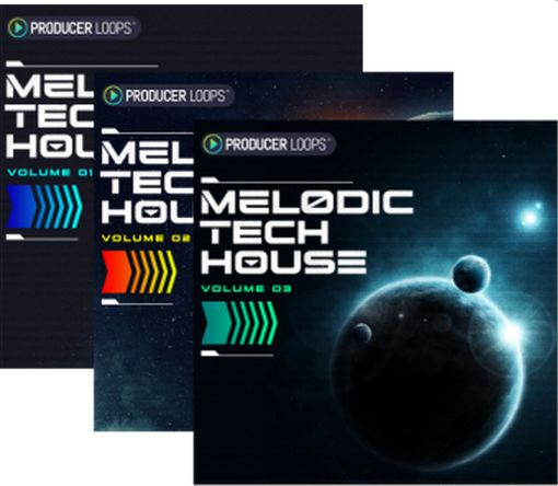 Melodic Tech House Vol 1-3 WAV MiDi-DISCOVER
