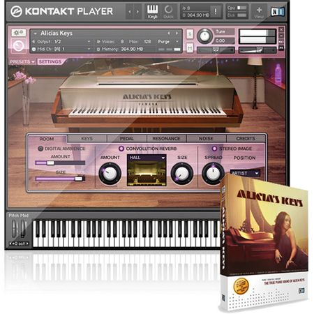 NI Alicias Keys v1.5.0 Lite Version KONTAKT
