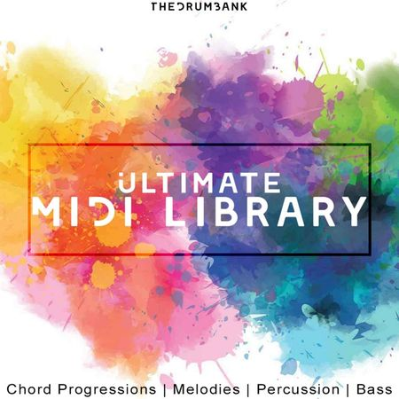 Ultimate Midi Library Vol 1 MiDi-DISCOVER