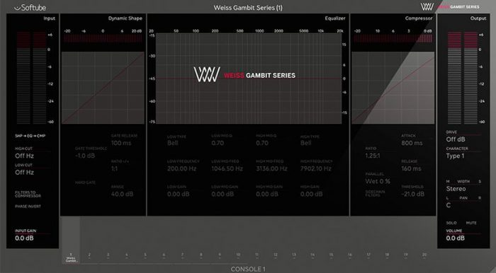 Console 1 Weiss Gambit Series v2.5.9-R2R