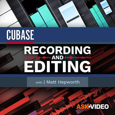 Cubase 11 102 Recording and Editing TUTORiAL