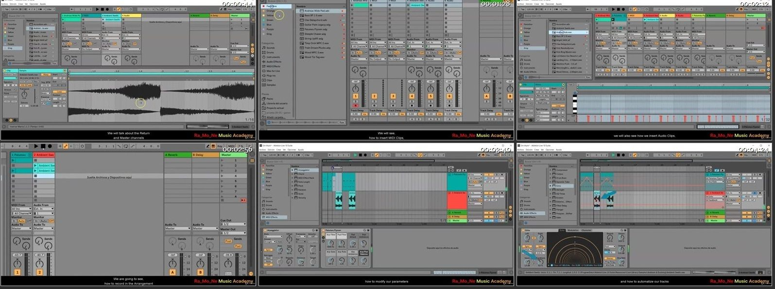 Electronic Music Production with Ableton Live 10