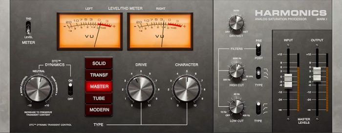 Harmonics Analog Saturation Processor 2.5.9-R2R